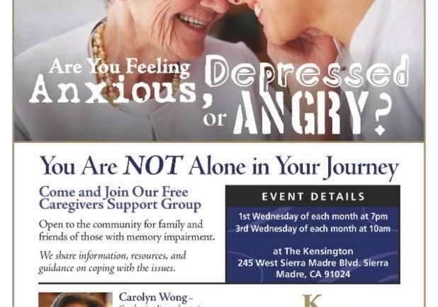 Kensington: Caregivers Support Group