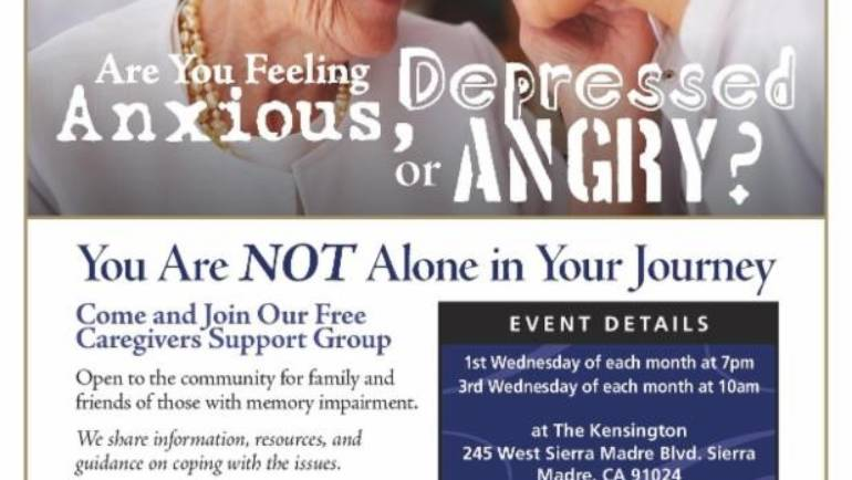 Kensington: Caregivers Support Group