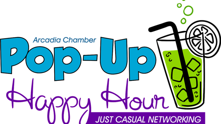 Arcadia Weekly covers Pop-Up Happy Hour