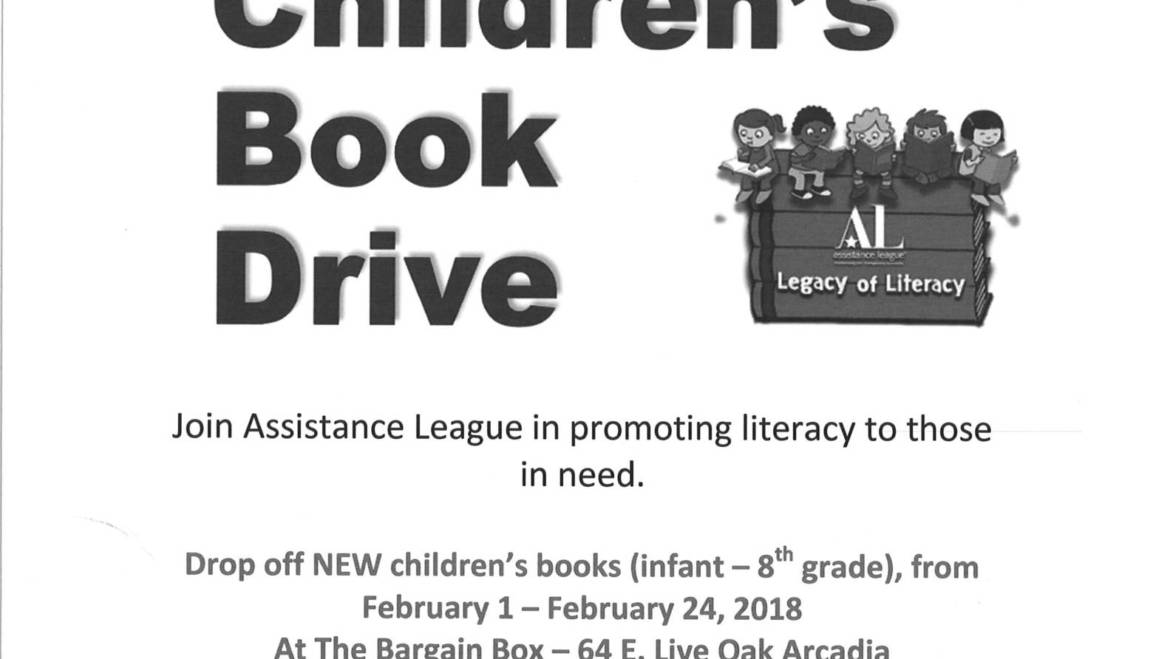Assistance League Children's Book Drive