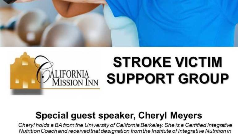 California Mission Inn: Stroke Victim Support Group
