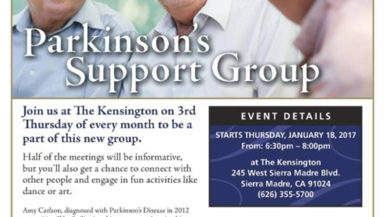 The Kensington: Parkinson's Support Group