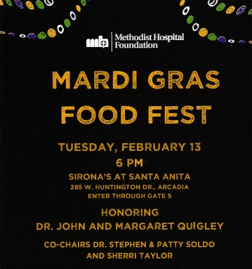 Methodist Hospital celebrates Mardi Gras