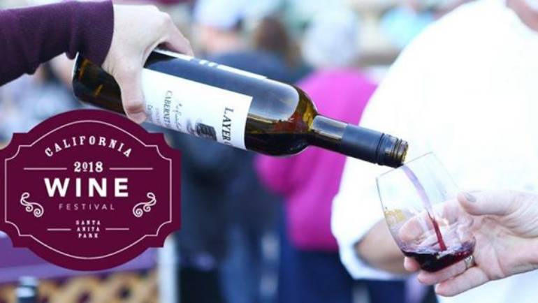 Santa Anita 2018 CA Wine Fest
