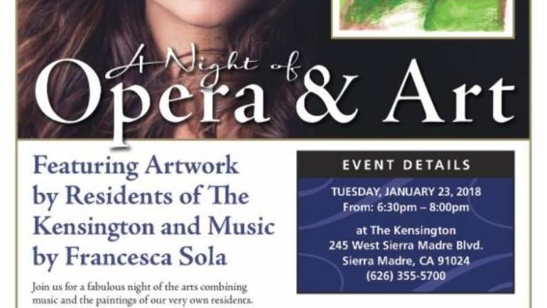 A Night of Opera and Art at the Kensington