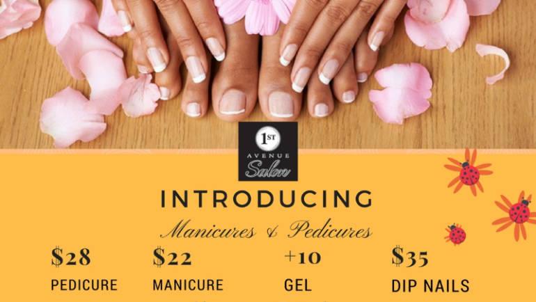 New Spa Services at 1st Avenue Salon