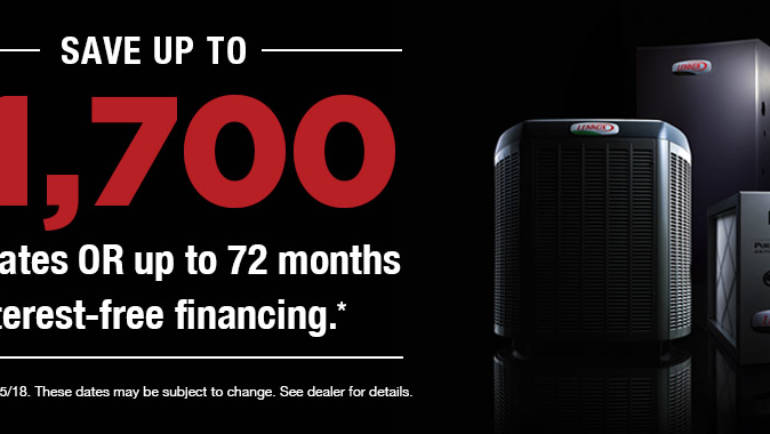 Save up to $1700 on LENNOX with Air-Tech