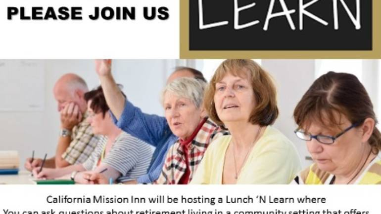 California Mission Inn Lunch and Learn