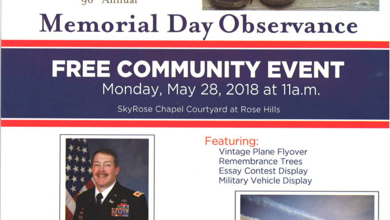 Rose Hills 98th Annual Memorial Day Observance