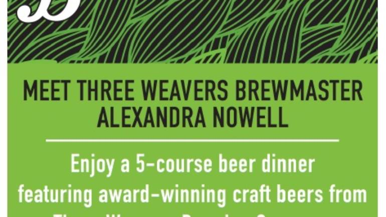 Three Weave3rs Beer Dinner at Del Frisco's