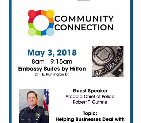 Community Connection featuring Police Chief Guthrie