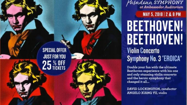 Pasadena Pops presents Beethoven