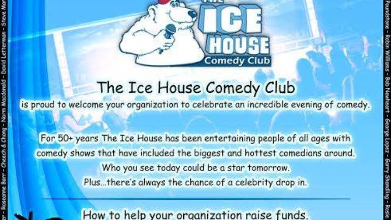 "Foothill Unity Center Ice House ""FUNd-raiser"""