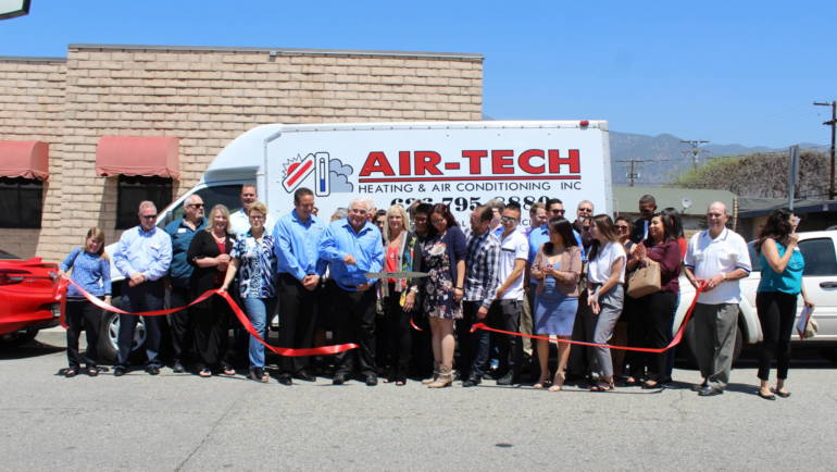 Air-Tech Celebrates 30 Years with Ribbon Cutting