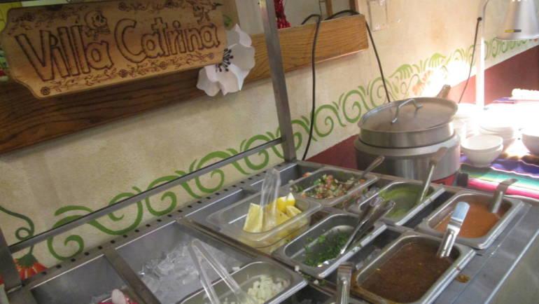 Buffet Lunch at Villa Catrina
