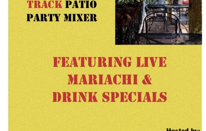 Race Track Patio Mixer at Paco's