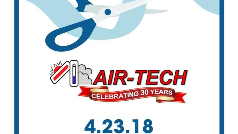 Reminder: Air-Tech Ribbon Cutting on April 23rd