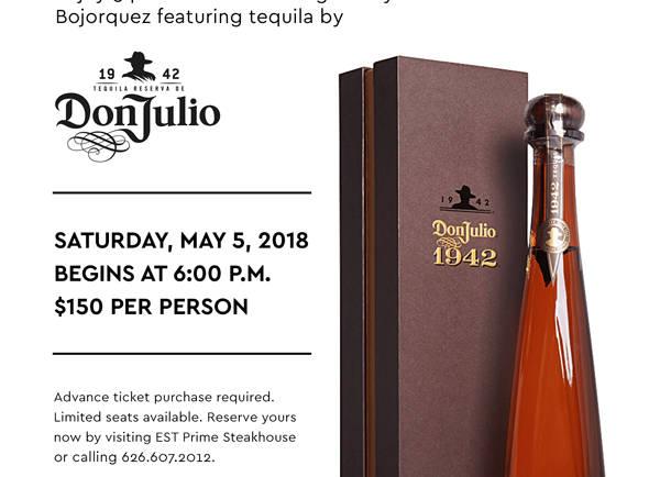 Tequila Dinner at Sheraton San Gabriel