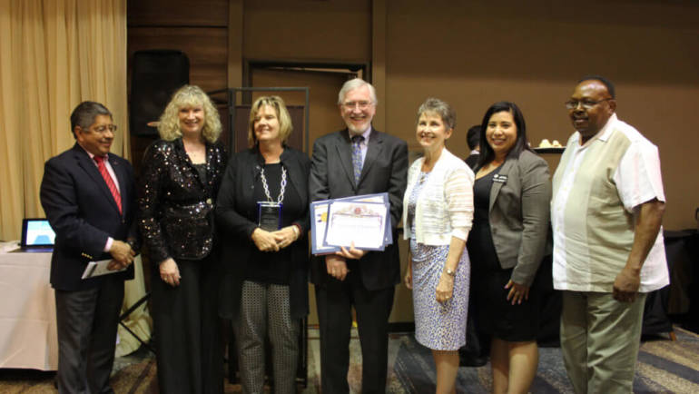 Sierra Auto recently awarded Outstanding Corporate Partner of the Year