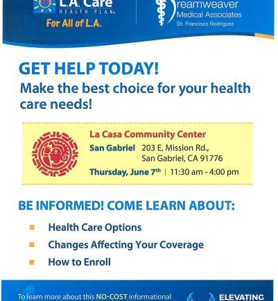 Be informed on Health Care Options with Dreamweaver Medical Associates