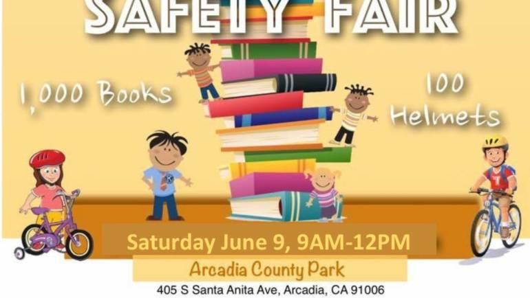 Kiwanis 2nd Annual Book & Bike Safety Fair