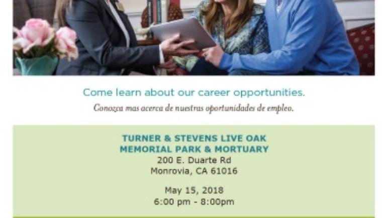 Dignity Memorial Hiring Event