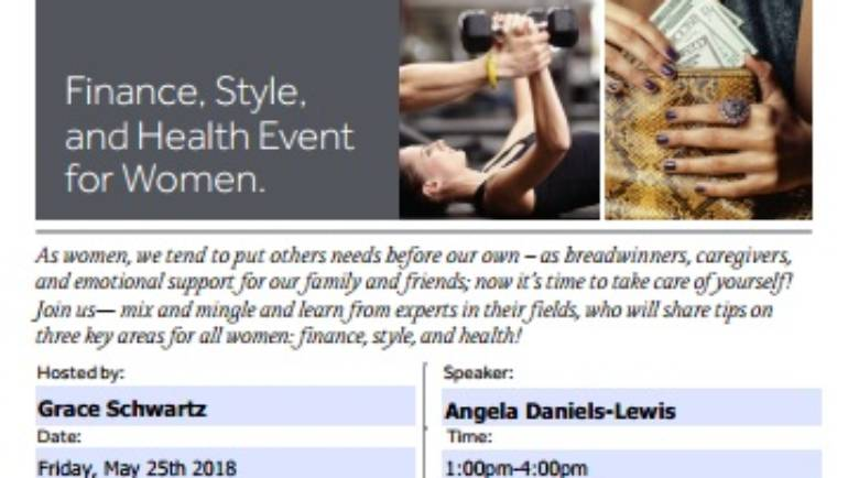New York Life Finance, Style and Health Event