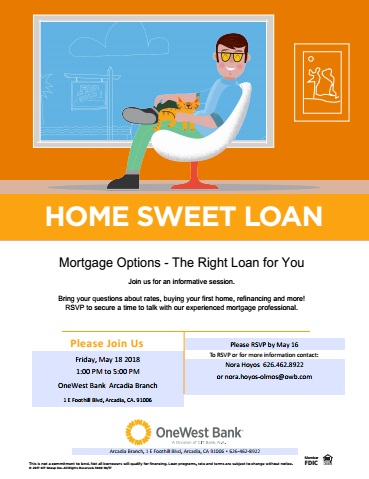 Find the right Loan for you with OneWest Bank
