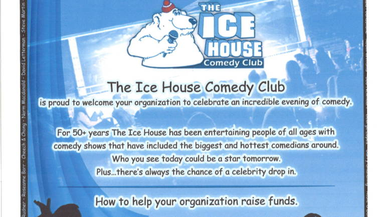 Silence the Tears 'FUNd-raiser' at the Ice House