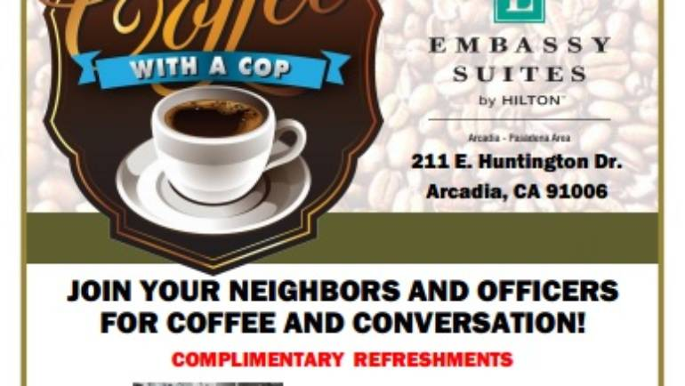 Arcadia Police Department's Coffee With a Cop