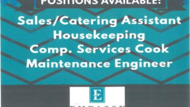 Embassy Suites is hiring!