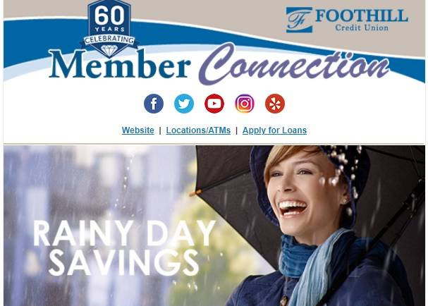 Foothill Credit Union Member Connection