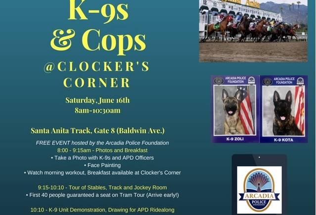 K-9s & Cops at Clockers Corner