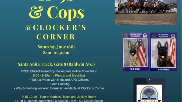 K-9s & Cops at Clockers Corner