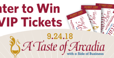 Enter to Win 4 VIP Tickets to Taste of Arcadia