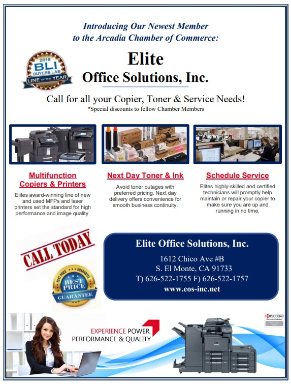 Elite Office Solutions – Call for all you Copier, Toner and Service Needs!