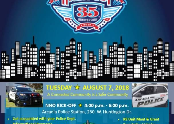 National Night Out 35th Anniversary