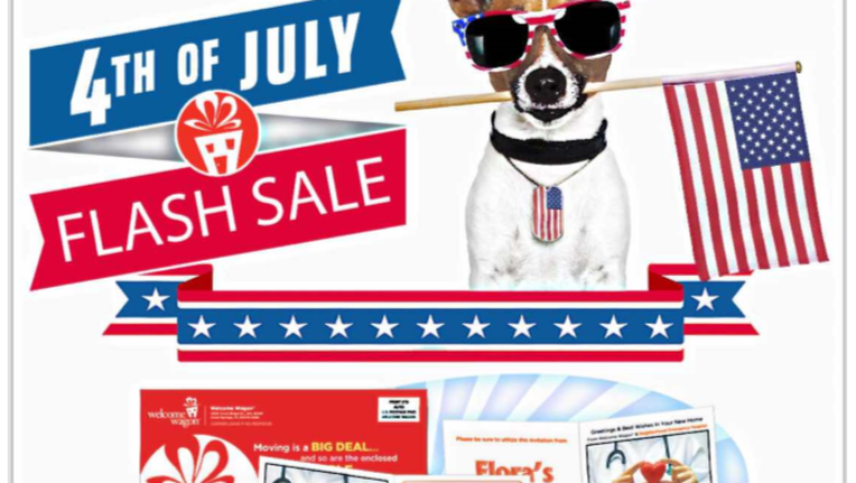 4th of July Flash Sale, July 3-6th