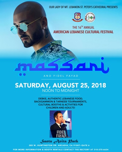 American Lebanese Cultural Festival at Santa Anita Park