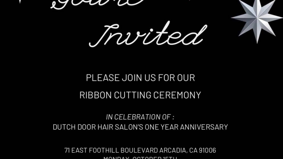 Dutch Door Hair Salon celebrates 1 Year Anniversary