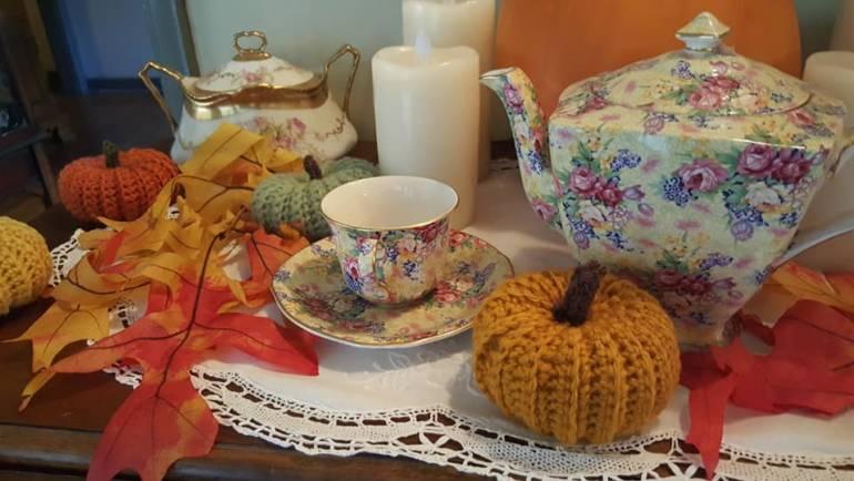 Four Seasons Tea Room Dia de los Muertos tea