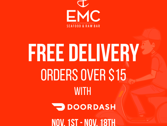 EMC – free delivery with Doordash