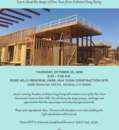 Rose Hills Hua Yuan Architecture lecture