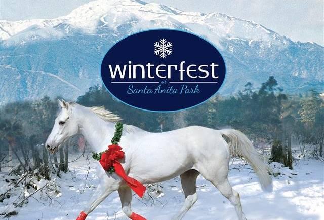Winterfest Media Day at Santa Anita