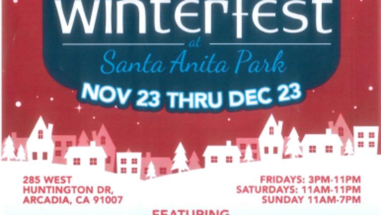 Winterfest is Coming to Santa Anita