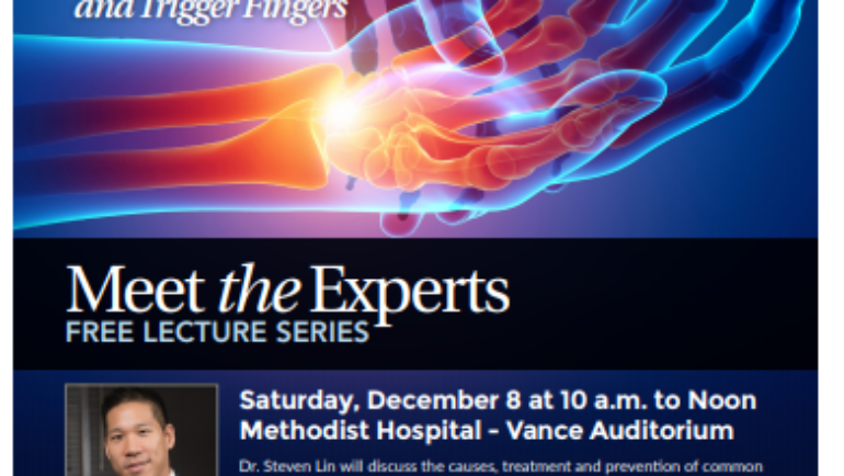 Meet the Experts Lecture Series at Methodist Hospital
