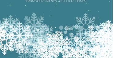 Happy Holidays from Budget Blinds