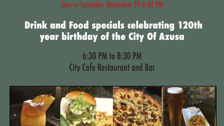 City Cafe celebrates Azusa's 120th Anniversary