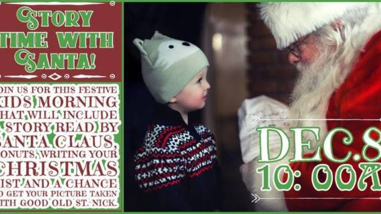Story Time with Santa at Mt Lowe Brewing Co