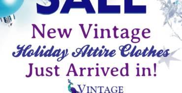 Christmas Sale at Vintage Treasures